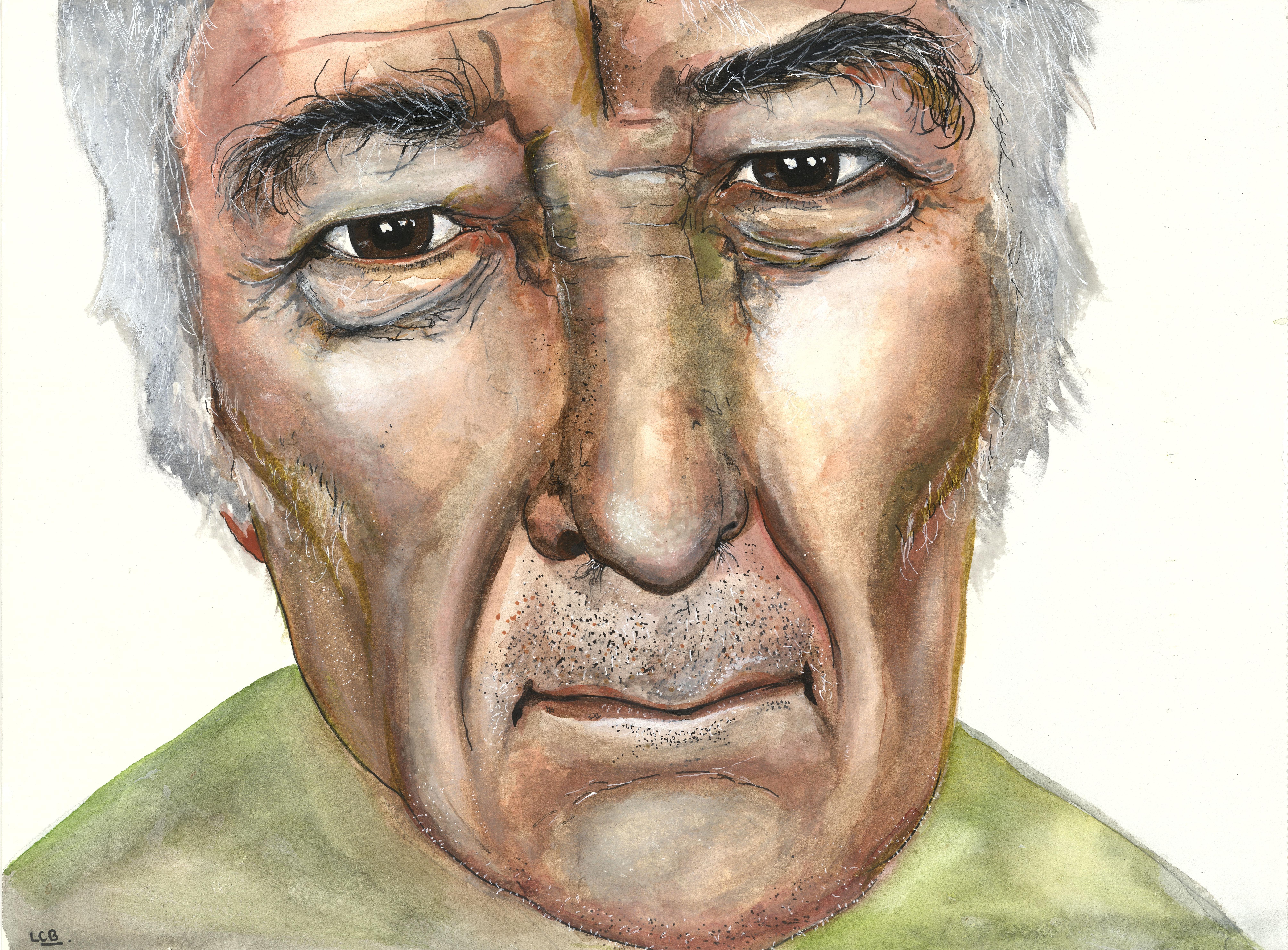 Seamus Heaney by Linda Coogan Byrne